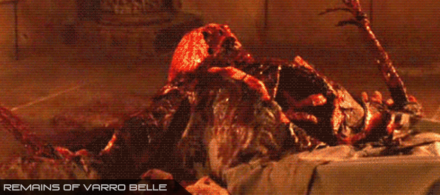 Varro Belle's Corpse
